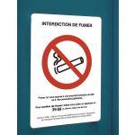 AFFICHE OFFICIELLE INTERDICTION DE FUMER