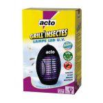 ACTO GRILL'INSECTES LAMPE LED UV (VENDU PAR 1) - COMPAGNIE GENERALE INSECTICIDE