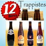 12 BIERES TRAPPISTES : LA TRAPPE, WESTMALLE, ORVAL