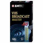 VHS E-60 CASSETTE VIDEO