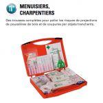 TROUSSE DE SECOURS MENUISIER - CHARPENTIER