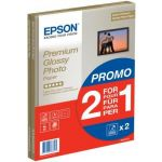 EPSON PAPIER GLACÉ QUALITÉ PHOTO PREMIUM 2 POUR 1, DIN A4, 255G/M², 30 FEUILLES