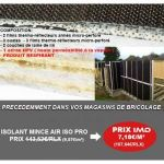 ISOLANT MINCE - AIR ISO PRO