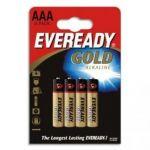 EVEREADY BLISTER DE 4 PILES ALCALINE LR03/AAA+CCR