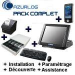 SOLUTION RESTAURANT AZURLOG  - PACK COMPLET POCKET PC PRÊT À UTILISER
