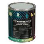 TECHNOPHOSPHO JAUNE 0.75L LIANT ACRYLIQUE + POUDRE.