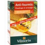 ANTI-FOURMIS POUDRAGE VILMORIN CONTENANCE ETUI 400G + 20% GRATUIT