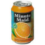 MINUTE MAID BOITES JUS ORANGE MINUTE MAID 33 CL (LOT DE 24)