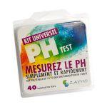 ZAYHO KIT PH UNIVERSEL 40 TESTS ECHELLE 1/12 TESTS ET ANALYSES DE L'EAU
