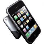 COQUE DE PROTECTION POUR IPHONE 3G ET 3GS - IFROGZ - LUXE - ARGENT ET NOIRE