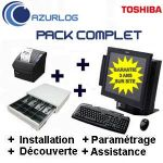 SOLUTION RESTAURANT AZURLOG  - PACK COMPLET TOSHIBA ST A-10 PRÊT À SERVIR