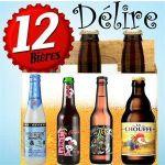 12 BIERES DELIRE : LEVRETTE, CHOUFFE, DELIRIUM, ..