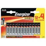 PILE MAX AAA/LR03 - LOT DE 12 + 4 -  ENERGIZER