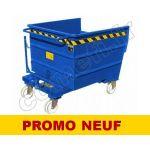 BBLT0500 AUTO - PROMO BASCULANT / 490 LITRES / 1000KG