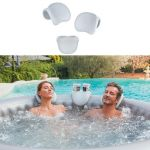 APPUIE-TÊTES & SUPPORT GOBELET POUR SPA GONFLABLE NETSPA