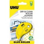 UHU DRY & CLEAN ROLLER JETABLE NON PERMANENT 8.5 M X 6.5 MM