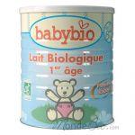 BABYBIO - LAIT BIOLOGIQUE BABYBIO 1 POUR NOURRISSON DE 0 À 6 MOIS 900GR