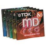 TDK MD-C80MIX5 PACK COLOUR MIX LOT DE 5