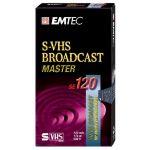 CASSETTE S-VHS 120 MN EMTEC