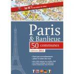 GUIDE DE PARIS ET PROCHE BANLIEUE GRAND ATLAS - BLAY FOLDEX - 21 5 X 30 5 CM